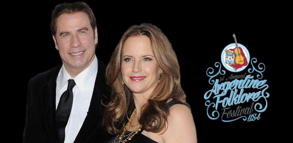 Padrinazgo de John Travolta y Kelly Preston